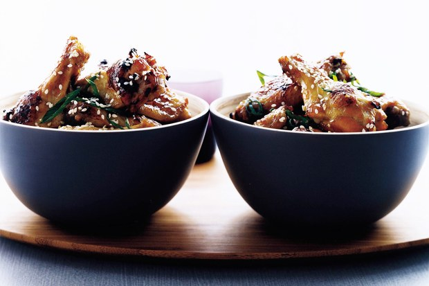 Asia Sticky Chicken Wings